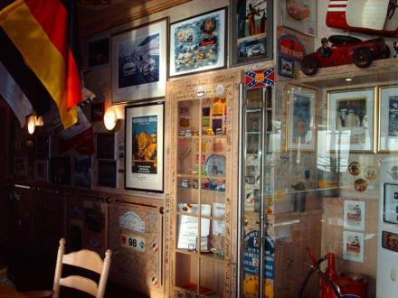Rennfahrer-Erinnerungen - Cock-Pit Bar