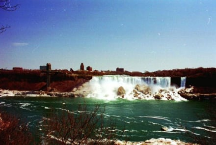 Niagara Fälle USA - Niagarafälle / American Falls