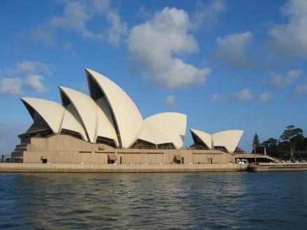 Das einmalige Opernhaus von Sydney - Opera House