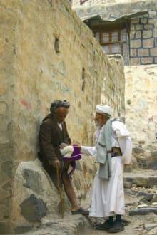 Dorfgespräche in Dschibla - Dschibla