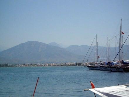 weiterer Teil des Yachthafens von Fethiye - Yachthafen Fethiye