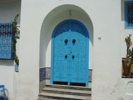 Sidi Bou Said, Tunesien - Künstlerdorf Sidi Bou Saïd