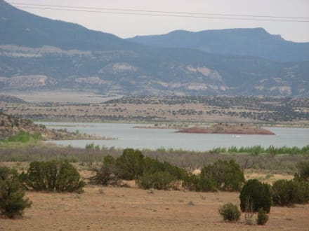 Südlich des Echo Amphitheaters in New Mexico - Echo Amphitheater New Mexico