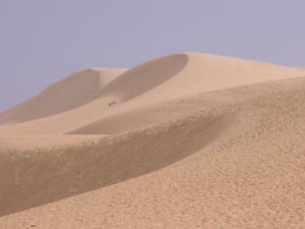 Weiße Dünen - Sanddünen