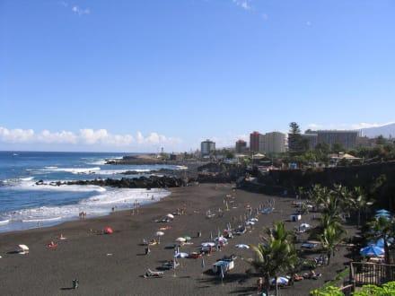 Palya Jardin - Puerto de la Cruz - Playa Jardín