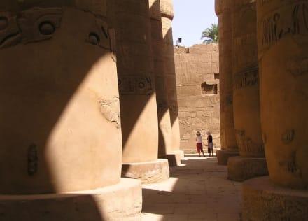 Säulenhalle - Amonstempel Karnak