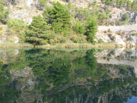 Auf dem Fluß Krka - Nationalpark Krka