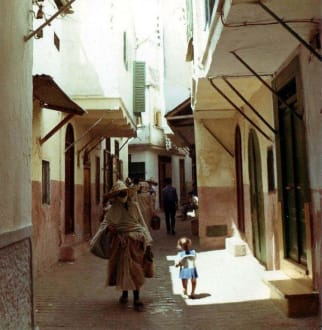 In der Altstadt von Tanger - Medina