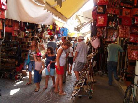 Ledergasse in Chania - Ledergasse