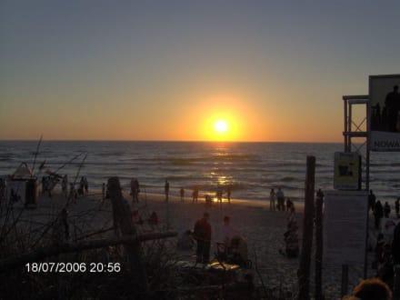 Sonnenuntergang - Strand Rowy