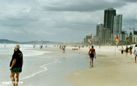 Surfers Paradise - Strand Surfers Paradise