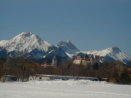 Füssen, Hohes Schloss - Hohes Schloss Füssen