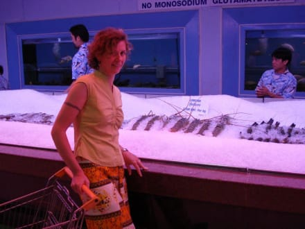 If it swims we have it - Seafood Market