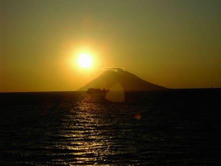 Der Stromboli - Vulkan Stromboli