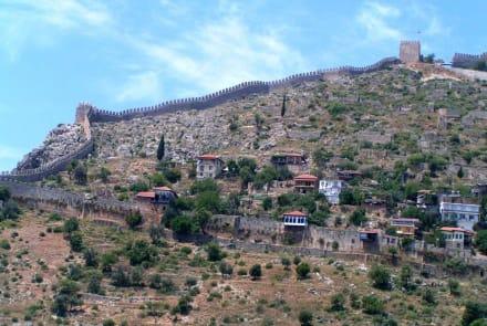 Alte Stadtmauer von Alanya - Burg von Alanya  (Ic Kale)