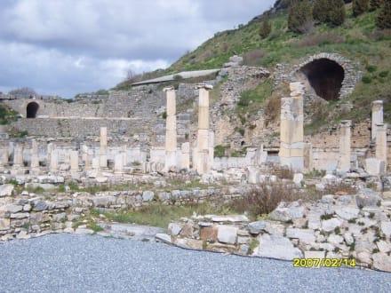 Ein Teil der Varius Therme! - Antikes Ephesus