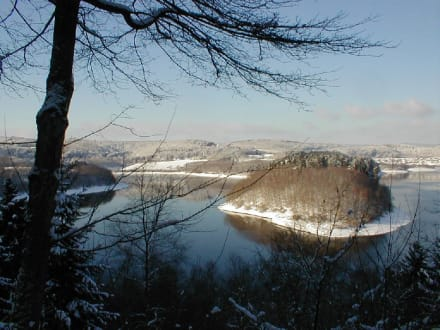 Winterimpressionen am Biggesee - Biggesee