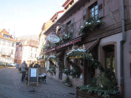 Hotel Restaurant Du Mouton Ribeauville