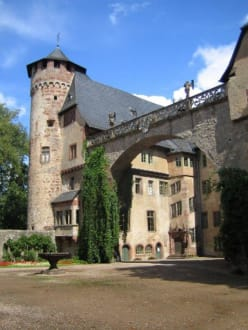 Ein schöner Turm. - Schloss Fürstenau