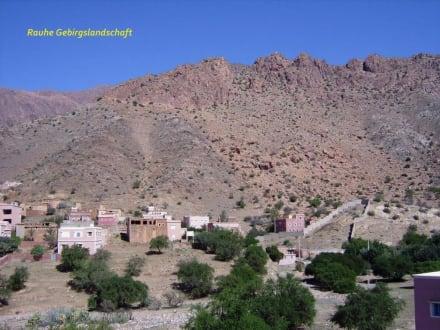 Fahrt durch und über den Antiatlas - Antiatlas-Gebirge