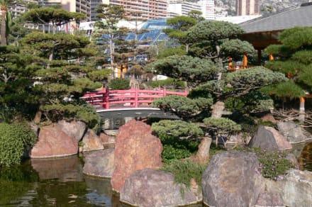 Kleine Brücke - Japanischer Garten
