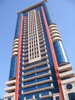 Gebäude an der Sheikh Zayed Road - Sheikh Zayed Road
