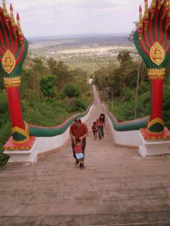 Schöne Aussicht - Weisser Buddha
