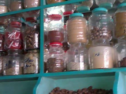 Tee und Kräuterladen - Bazar von Assuan