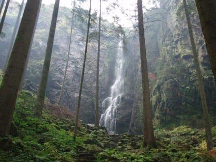 Burgbachwasserfall - Burgbachwasserfall