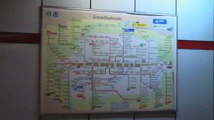 Münchner S und U Bahnnetz - Transport