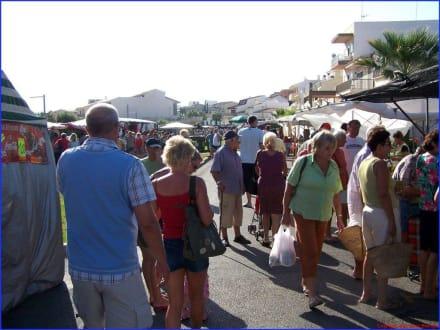 Markt in Can Picafort - Wochenmarkt