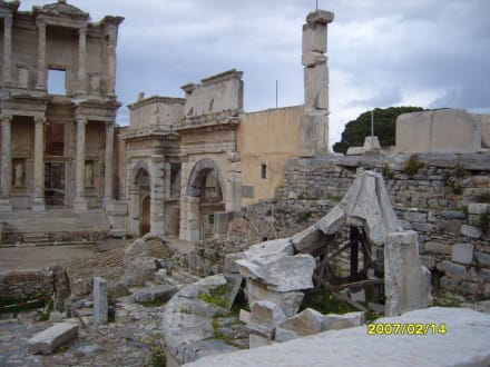 Das Mazeus Mithridates Tor! - Antikes Ephesus