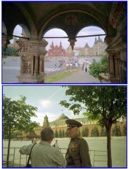 Moskau;  Roter Platz - Roter Platz