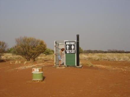 Busch Toilette - Tanami Track
