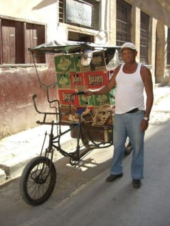 Biertransport in Havanna - Altstadt Havanna