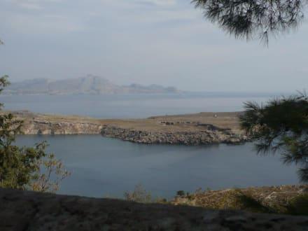 Strand/Küste/Hafen - Akropolis von Lindos