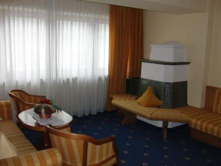Suite - Wohnzimmer - Hotel Regina