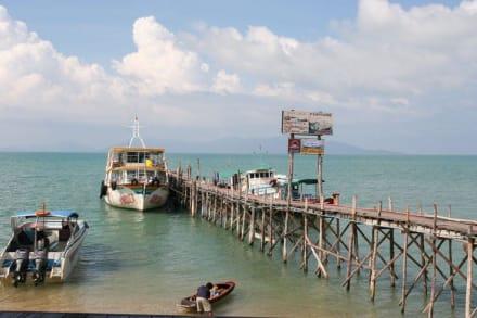 Pier in Fisherman Village - Strand Bo Phut