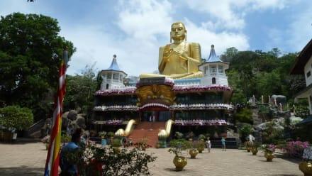 Goldener Tempel von Dambulla - Höhlentempel Dambulla