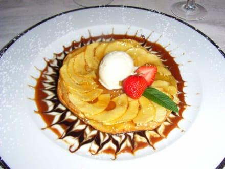 Göttliche Nachspeise - Hotel Restaurant La Chaumiere
