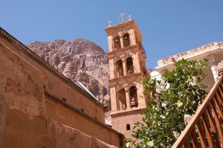 Im Inneren des Klosters: St.Katharina - Katharinenkloster
