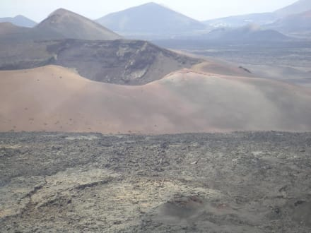 Timanfaya, Vulkan- / Naturschutzgebiet - Nationalpark Timanfaya (Feuerberge)
