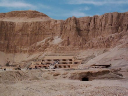 Deir-El-Bahari - Tempel der Hatschepsut