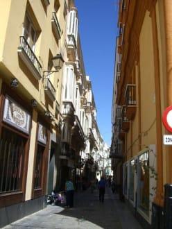 Fußgängerzone - Altstadt Cadiz