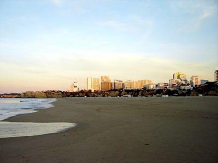 Vor dem Frühstück - Strand Praia da Rocha