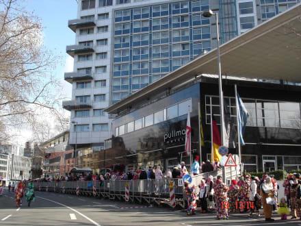 Karneval Pullman Hotel Köln