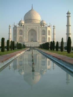 Taj Mahal - Spiegelung - Taj Mahal