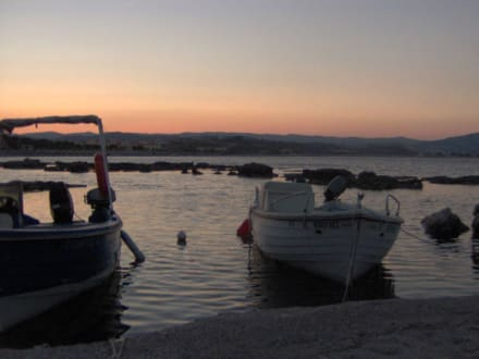 Kolymbia- Hafen bei Sonnenuntergang - Hafen Kolymbia