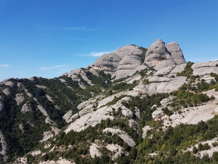 Berg/Vulkan/Gebirge - Kloster von Montserrat