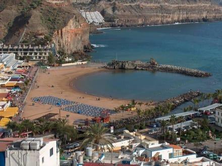 strand bild hotel cordial mog n playa in puerto de mog n gran canaria spanien. Black Bedroom Furniture Sets. Home Design Ideas